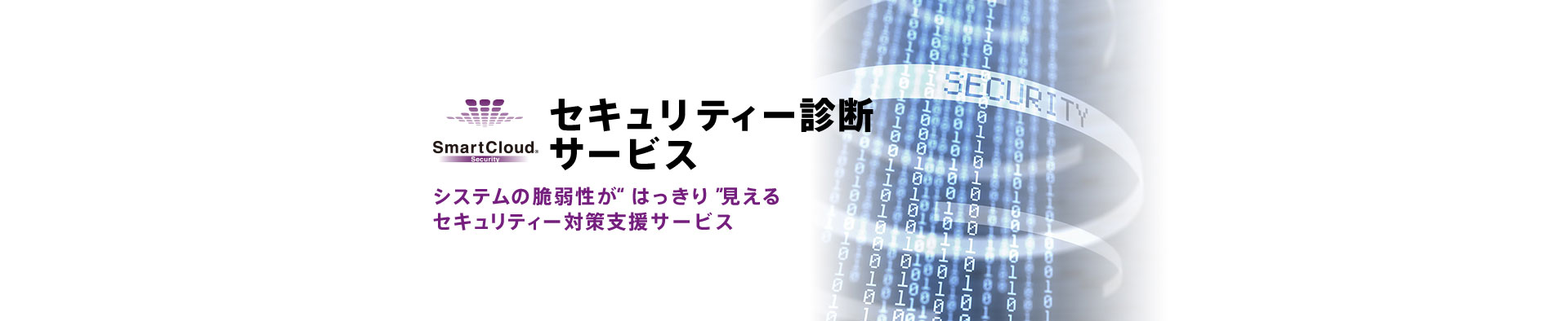 SmartCloud  セキュリティー診断サービスのイメージ